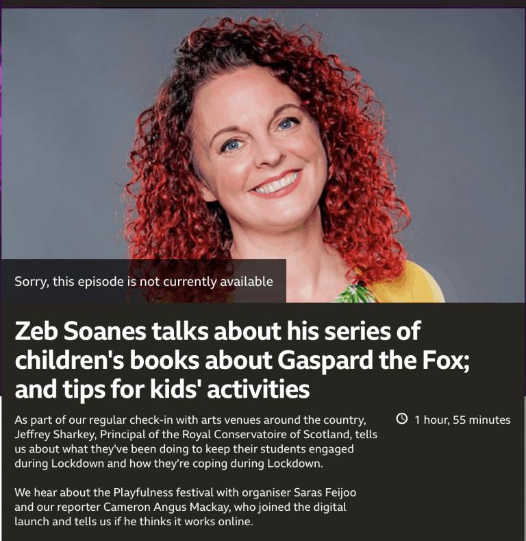 BBC Scotland Interview